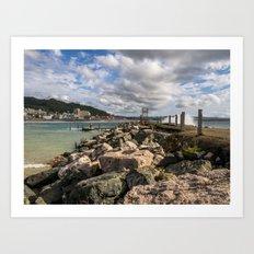 Aguadila coast 3 Art Print