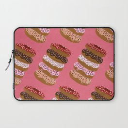 Stacked Donuts on Cherry Laptop Sleeve
