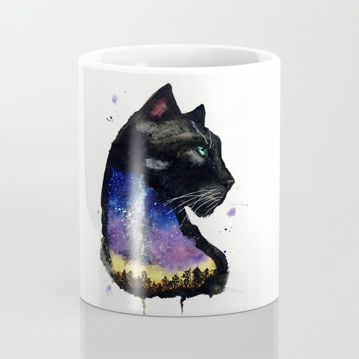 Galaxy Panther Coffee Mug