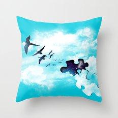 Sky is Fallin' Throw Pillow