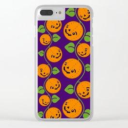 Jack O' Pumpkin Patch Clear iPhone Case