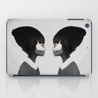 ruben iPad Cases featuring A Reflection by Ruben Ireland