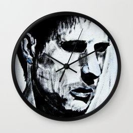 Strife by D. Porter Wall Clock
