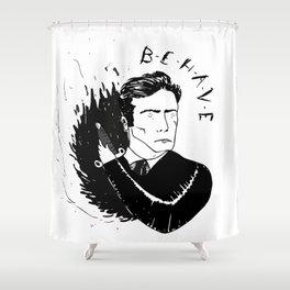 V. Maim Shower Curtain