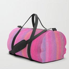 Summer Berries - Bold Stripes Duffle Bag