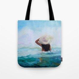 Private Beach Tote Bag