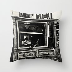 Static Age Throw Pillow