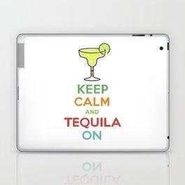 Keep Calm Tequila - white Laptop & iPad Skin