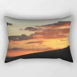Into the dark Rectangular Pillow