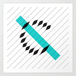 synthesis — c Art Print