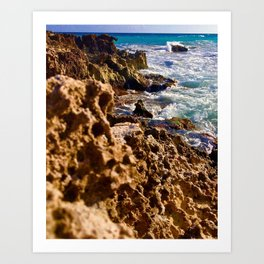 Tides of Cancún Art Print