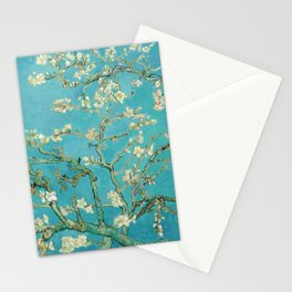 Van Gogh Almond Blossoms Painting Stationery Cards