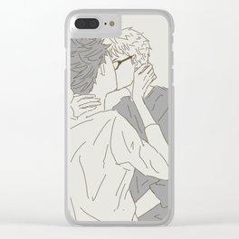 Haikyuu!! - Kurotsuki 3 Clear iPhone Case