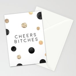 CHEERS BITCHES SIGN, Funny Bar Decor,Funny Print,Bar Wall Decor,Home Bar Decor,Party Gift,Drink Sign Stationery Cards