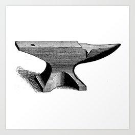 Anvil Art Print