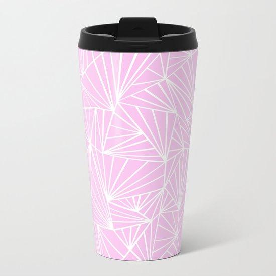 Ab Fan Pink Metal Travel Mug