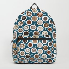 Gimme Coffee—Coffee Your Way | Teal Backpack