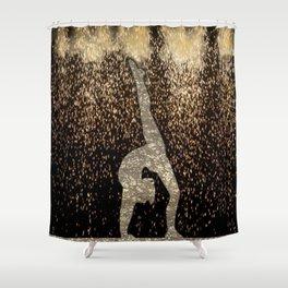 Sparkle Gymnast Shower Curtain