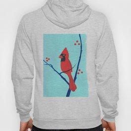 Cardinal Winter Berries Hoody
