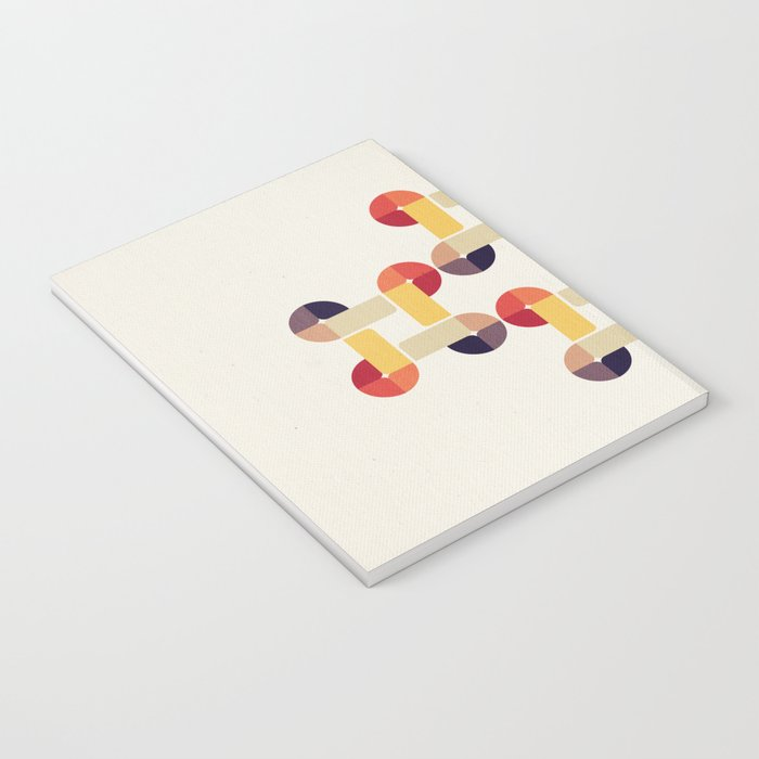 'round and 'round Notebook