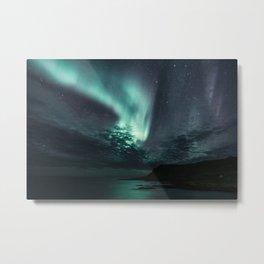 Aurora Borealis XXI Metal Print