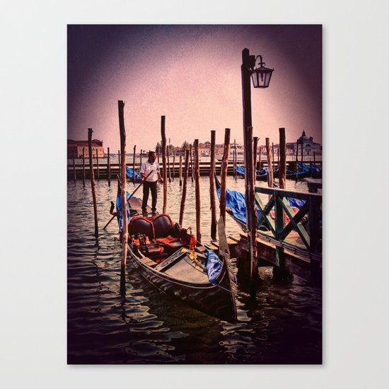 Venice in the evening Canvas Print