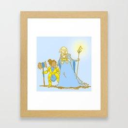 Magic Wives Framed Art Print