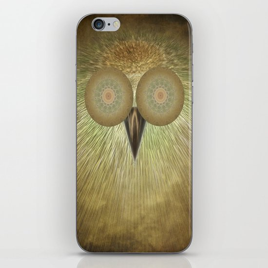 The Owl iPhone & iPod Skin
