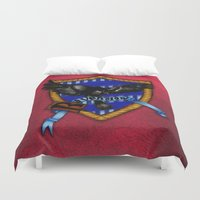 ravenclaw Duvet Covers featuring Ravenclaw by JanaProject
