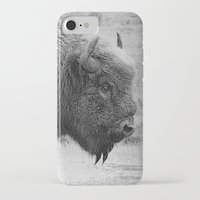 bison iPhone & iPod Cases featuring  Bison by Peaky40