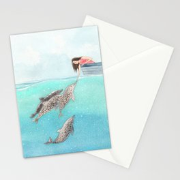 A touch of love Stationery Cards
