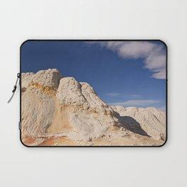 White Pocket Laptop Sleeve