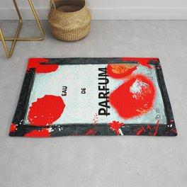 Parfum Box Red Splash Rug