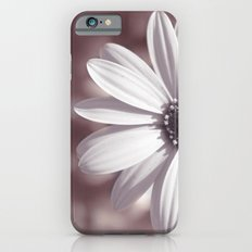 White Daisy Slim Case iPhone 6s