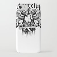sons of anarchy iPhone & iPod Cases featuring Anarchy by Tshirt-Factory