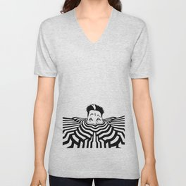 Ripplescape #3 Unisex V-Neck