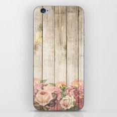 Wood Roses iPhone & iPod Skin