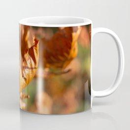 Dried Autumn Leaves Coffee Mug