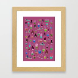 cacti and such Framed Art Print