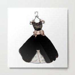 My favorite black dress Metal Print