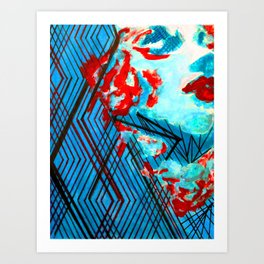 Diamonds #Society6 #buy art #decor Art Print