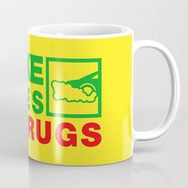 SMOKE TYRES NOT DRUGS v1 HQvector Coffee Mug