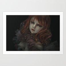 PORTRAIT. Art Print