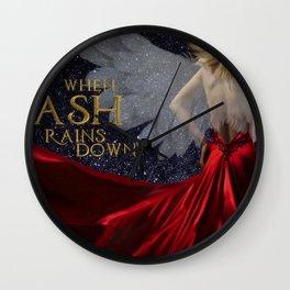 When Ash Rains Down Wall Clock