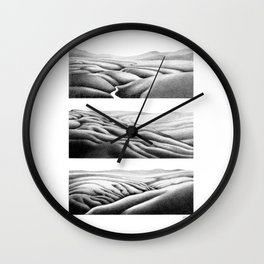Southern Lands Wall Clock