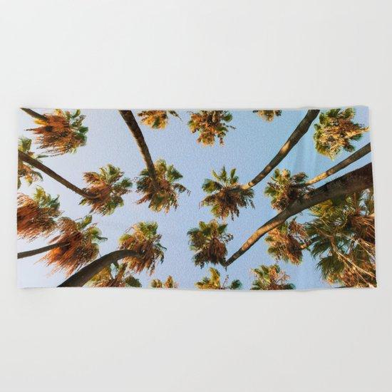Palm trees overload Beach Towel
