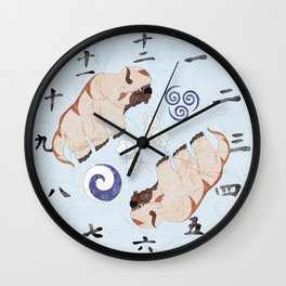 Avatar The Last Airbender Air Clock Face Wall Clock
