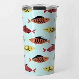 fish pattern Travel Mug