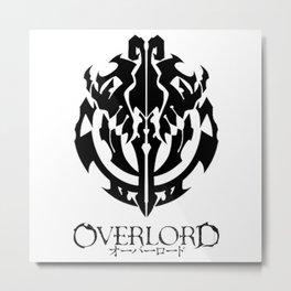 Overlord Logo Metal Print
