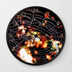 spider love Wall Clock